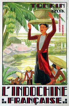 Le Tonkin Indochine Fran�aise
