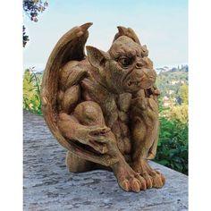 Balthazars Watch Gargoyle Statue by Design Toscano, http://www.amazon.com/dp/B003M0EBAK/ref=cm_sw_r_pi_dp_6onwrb0079W28