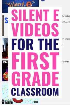 CVCe words are tricky to teach, but these kid-friendly silent e words videos can help! Don't waste time searching for videos on YouTube!