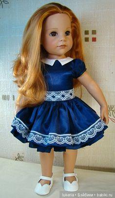 Платье для куклы своими руками по эскизу модного буклета / Куклы Gotz - коллекционные и игровые Готц / Бэйбики. Куклы фото. Одежда для кукол