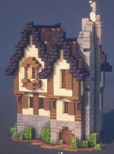 Art Minecraft, Minecraft House Plans, Minecraft Structures, Minecraft Mansion, Minecraft Cottage, Minecraft Castle, Cute Minecraft Houses, Minecraft House Designs, Amazing Minecraft