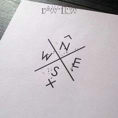 Compass tattoo for wrist minimalist geometric tattoo