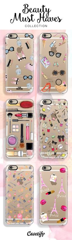 Some of our Beauty Must Haves now available: www.casetify.com/...