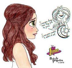 el sueño de luna Bff Drawings, Pretty Drawings, Amazing Drawings, Disney Drawings, Disney Films, Disney Art, Disney Channel, Luna Anime, Son Luna