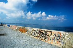 Sunabe Sea Wall Great place to drop in for a dive & see fireworks!  I walked on there too!  Missing Oki now!