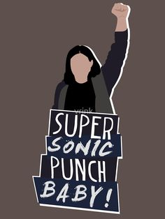 """Super Sonic Punch - Cisco"" T-Shirts & Hoodies by vrink 