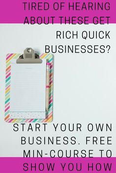 DONT GET SUCKED INTO THE GET RICH QUICK DIRECT SALES BUSINESS. it may seem tempting but working for yourself is much better, start your own business and get the steps of how to do it (for free!!) www.businessnbabies.com