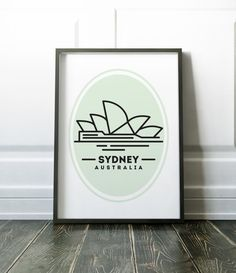 Sydney minimalist print - many more cities and states are available in my store.  Most of my prints are now available for you to print at home in my other shop here: www.etsy.com/uk/shop/NordicDesignHouseCo  MY PRINTS  All of my prints are designed inhouse so if you require a different colour or alteration please just send me a convo and I will be more than happy to make any small change free of charge. Larger, more time consuming changes will require an additional charge which I will be…