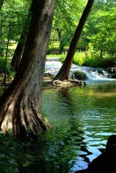 Hidden Texas Swimming Hole.. Kerrville..