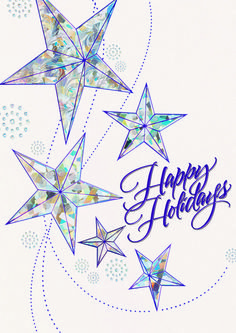 95 best business holiday greetings images on pinterest in 2018 white shimmer holiday cards featuring an aerial dance of artful stars the white shimmer card m4hsunfo