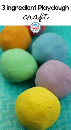3 Ingredient Playdough Recipe Who doesn't love playdough? Try out this easy 3 ingredient playdough recipe with your children today.Who doesn't love playdough? Try out this easy 3 ingredient playdough recipe with your children today. Creative Activities For Kids, Toddler Learning Activities, Sensory Activities, Sensory Play, Creative Kids, Sensory Table, Preschool Ideas, Summer Activities, Craft Ideas