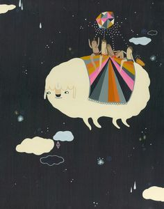 Happy Sunday! With Laura Berger's magical paintings to look at, how can it not be. More posted on the blog: http://www.artisticmoods.com/laura-berger/