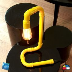 ¿Cómo hacer una lámpara con tubos de PVC? #HagaloUstedMismo #Iluminacion by aftr                                                                                                                                                      Más