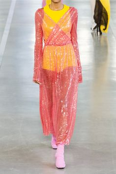 Emilio Pucci tulle gown