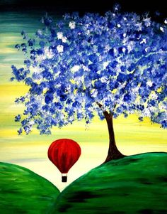 I am going to paint Day Dreamer at Pinot's Palette - Ellicott City to discover my inner artist!