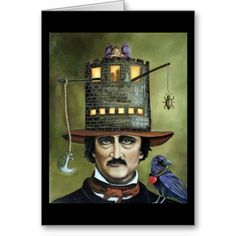Henry Ludlowe In The Raven The Love Story Of Edgar Allan Poe By  Edgar Allan Poe Cards Just In Time For Halloween Edgar Allan Poe Cards