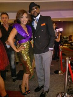 Dineo Moeketsi's Thula Sindi dress ... and job ... and perhaps you can throw in Banky also.