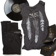 "Feel ""Young and Beautiful"" in this rocker chic look."