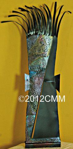 CARNIVAL MASK  Original Sculpture Painting by CMMorrisArtGallery, $150.00