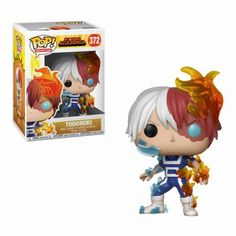 From My hero academia, Todoroki, as a stylized pop vinyl from Funko! Stylized collectable stands 3 ¾ inches tall, perfect for any My hero academia fan! Collect and display all My hero academia pop! Funk Pop, Figurine Pop Manga, Anime Figurines, Anime Pop Figures, Deco Gamer, My Hero Academia Merchandise, Funko Pop Anime, Funko Pop Dolls, Funko Toys