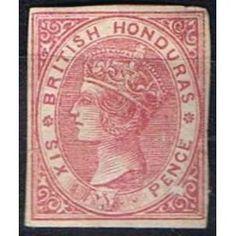 British colonies - British Honduras 2*, die proof, Queen Victoria Queen Victoria, Commonwealth, Stamp Collecting, Honduras, Belize, Great Britain, Postage Stamps, Postcards, Caribbean