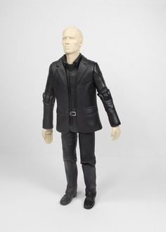 Doctor Who - Auton 2 Action Toy Figure - 13 cm Tall - 2004 BBC