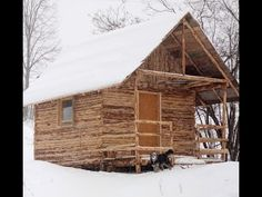 Log Cabin Build: You Can Do This Too - YouTube