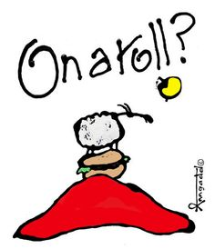"""On a roll?"" by Ann Gadd Ewe Sheep, Sheep Art, Make You Feel, Feel Good, Ann, Art Pieces, Artsy, Feelings, Cool Stuff"