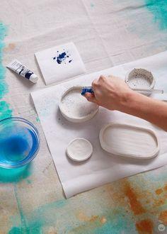 Diy Fimo, Crea Fimo, Fimo Clay, Polymer Clay Crafts, Ceramic Clay, Make Clay Beads, Keramik Design, Baking Clay, Acrylic Craft Paint