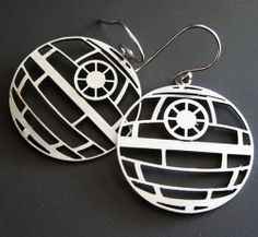 Death Star Earrings of the Day #starwars #want