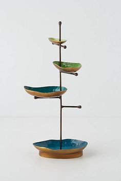 Baubled Brook Jewelry Stand from Anthropologie. Shop more products from Anthropologie on Wanelo. Jewellery Storage, Jewellery Display, Jewelry Organization, Jewelry Dish, Jewelry Tree, Jewelry Stand, Jewelry Holder, Spa Accessories, Ber
