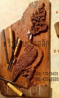 More info Contact facebook.com/SiamWoodCarving