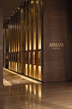 | Project Title: Armani Hotel | Project Location: Dubai, UAE | Firm: Wilson Associates, Dallas, Texas, USA | Category: Hotels | Award: Best of Category
