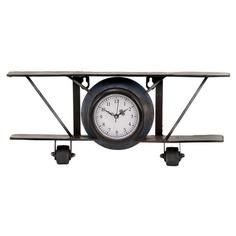 Airplane Table Clock