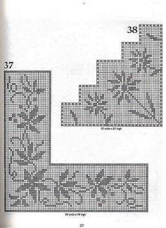 101 Filet Crochet Charts 27 | Flickr - Photo Sharing!