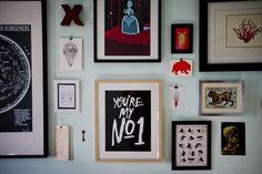 Des cadres à profusion | Lucie Lavigne | Design