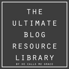 The Ultimate Blog Resource Library, starting a blog, advertising your blog, sponsoring a blog, how to use html coding on a blog, how to use ...