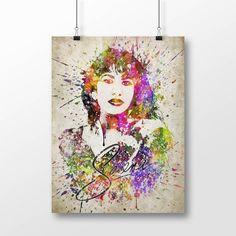 Selena Poster Selena Print Selena Art Home Decor Gift by Agedpixel