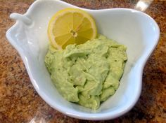 Avocado Banana Puree with Ricotta Cheese - Baby Meal Plans