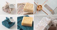 15 ideias de Embalagens para Sabonetes Artesanais que você vai adorar