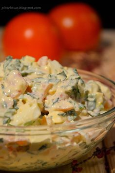blog kulinarny Feta, Potato Salad, Potatoes, Ethnic Recipes, Blog, Drink, Good Food, Food And Drinks, Salads