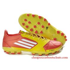 93c53d84b Latest Listing Discount adidas adizero TRX AG Leather Micoach Bundle in red  yellow white Football Boots On Sale