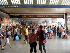 Termini, semina il panico tra i viaggiatori armato di coltello - http://retenews24.it/termini-paura-stazione-uid-64-2/