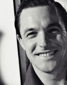 Gene Kelly, 1940's  Love his smile. I have a mad crush on gene Kelly