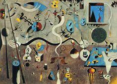 O Carnaval do Arlequim, 1925 Joan Miró (Espanha, 1893-1983) óleo sobre tela, 66 x 90 cm Albright-Knox Art Gallery, Buffalo