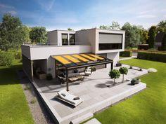 markilux 876 - 879  Αν το σπίτι σας έχει ένα μεγάλο άνοιγμα, έχετε ένα μεγάλο living room εξωτερικού χώρου.