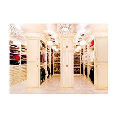 walk in closet | Tumblr found on Polyvore