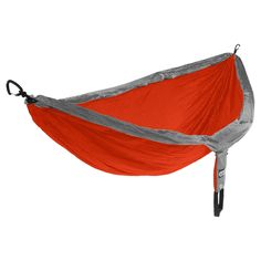 From star gazing in the backcountry to relaxing away a lazy Sunday, the DoubleNest Hammock from Eagles Nest Outfitters provides a cozy lounge for 2 that's perfect for travel or camping since it packs to the size of a grapefruit. Constructed of durable, breathable woven nylon, and hung on nautical grade line, this 2-person hammock is a warm-weather alternative to backpacking with a tent, sleeping pads, and sleeping bags - saving you space and weight while still allowing a peaceful night…