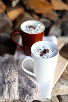 Csibe: Forró csoki mákkal szórva