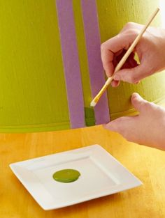 How to Paint a Lampshade by malinda